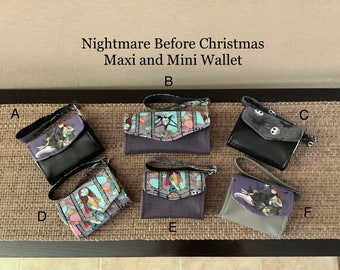 Nightmare Before Christmas Wallet