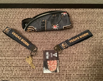 Golden Knights Case and Key Fob