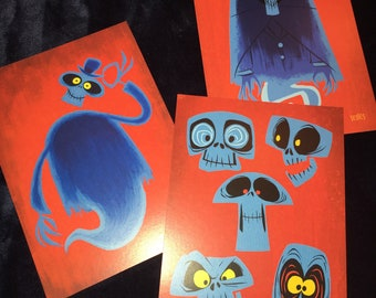 Ghost postcard 3 pack
