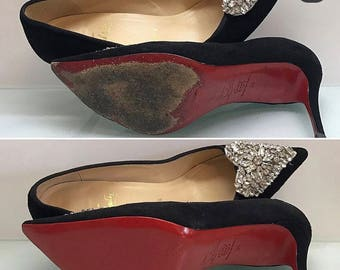 0016f91f1c7 Crystal Clear 3M sole protector guard for Christian Louboutin red bottom  heels