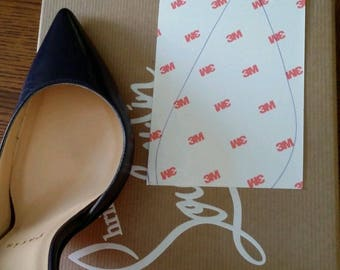 f74f3260e0dd Crystal Clear 3M sole protector guard for Christian Louboutin red bottom  heels