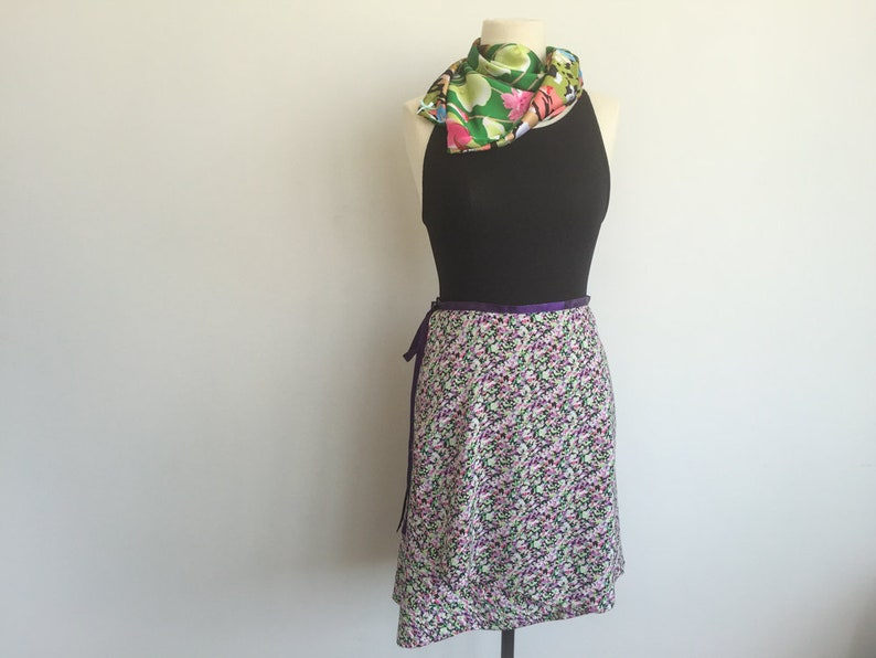 Abstract garden street-dancewear skirt