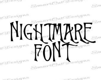 Gothic font | Etsy