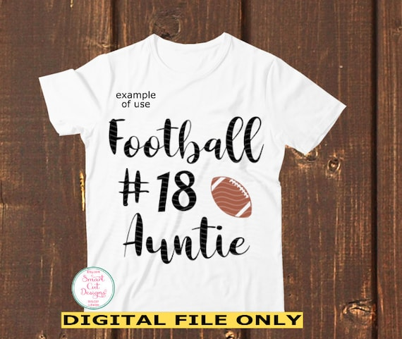 Football Aunt Svg Aunt silhouette and cricut files Baseball Svg Auntie Cutting Files Football Aunt Shirt svg Football Aunt svg