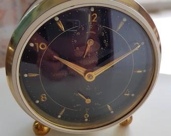 Vintage Junghans alarm clock mechanical clockwork 50ies