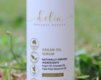 Organic argan oil serum  – cruelty free