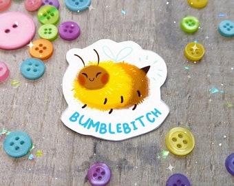 Bumblebitch Bee Sticker | Fun Stationary Bumblebee