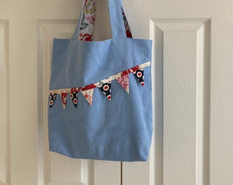 Cloth Tote Bag with Bunting