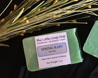 Spring Rain Bar Soap