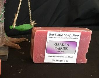 Garden Fairies Bar Soap