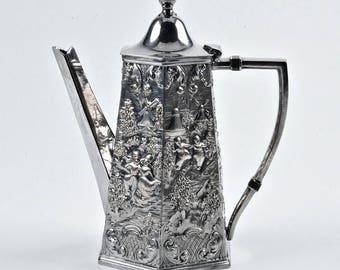 Spectacular Silver Coffee Pot