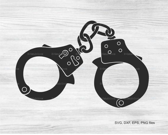 Handcuffs SVG ClipArt Instant Download