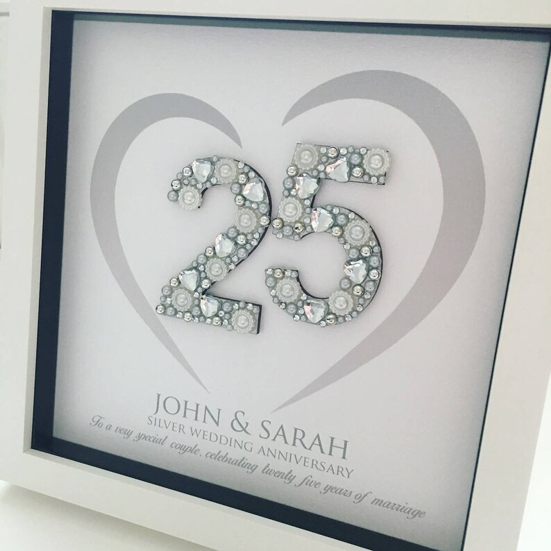 Australian Wedding Anniversary Gifts By Year: Silver Wedding Anniversary Gift 25th Anniversary Gift
