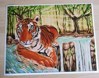 Kelly and the Banyan Tree - Painting Prints