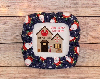 Candy Cane Christmas Grime Guards Q-Snap Frame-Cross Stitch//Needlecraft