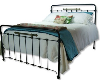 Iron Bed Etsy