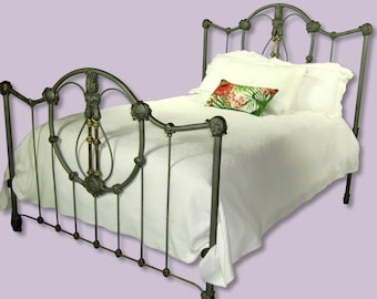Antique Iron Bed Etsy