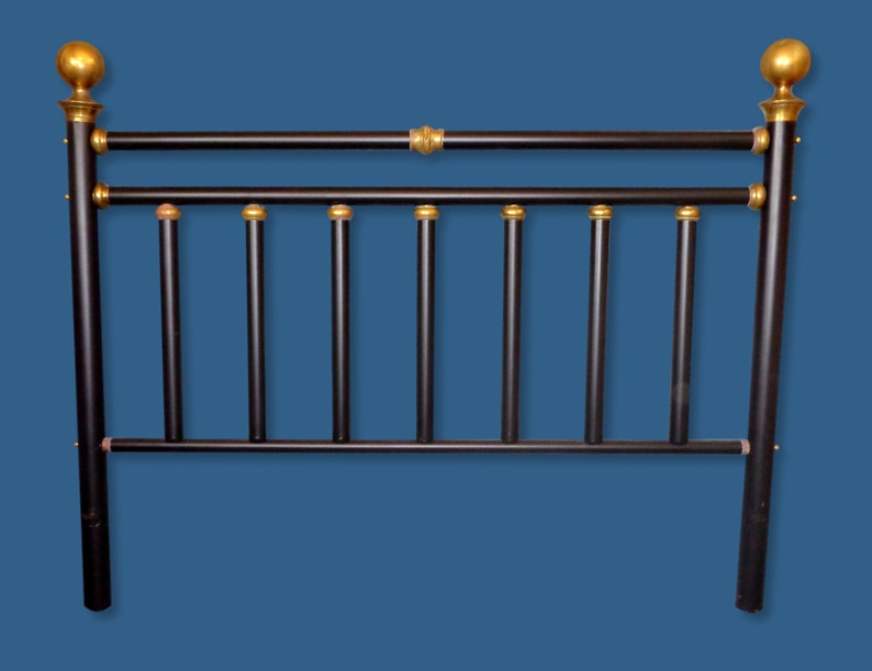 outlet store dbbf1 4e37d King Antique Brass Headboard, Antique Headboard, Brass Bed, Antique Bed,  King Size Headboard, Antique King Headboard, Headboard