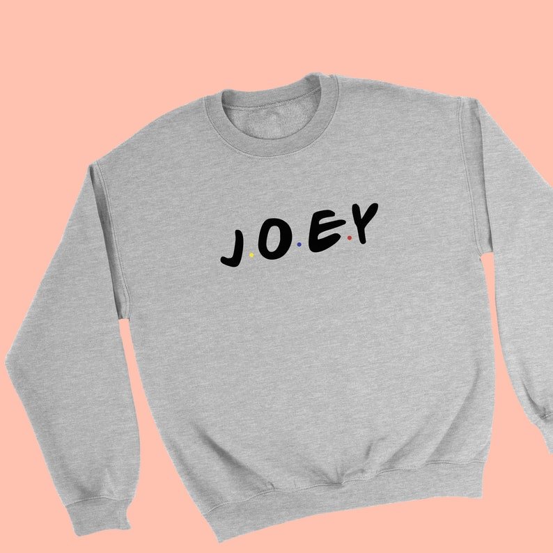 Joey Friends Sweater - Joey Tribbiani - Friends Tv Show Sweatshirt - How  You Doin - Joey And Chandler - Best Friends Gift - Central Perk
