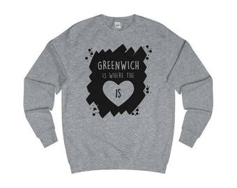 Greenwich Is Where The Heart Is T-Shirts/Sweaters/Hoodies