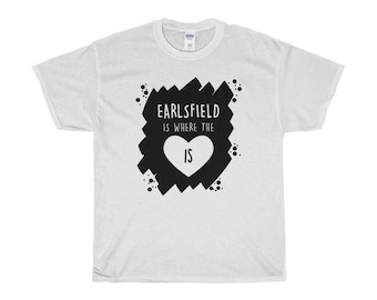 Earlsfield Is Where The Heart Is T-Shirts/Sweaters/Hoodies