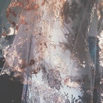 Ready to ship Metallic Flaked Bridal Veil - Hera by Cleo and Clementine