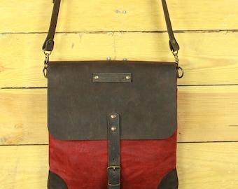 Messenger bag waxed canvas/shoulder bag/waxed canvas shoulder bag/messenger bags tarpaulin/Men messenger bag/backpack