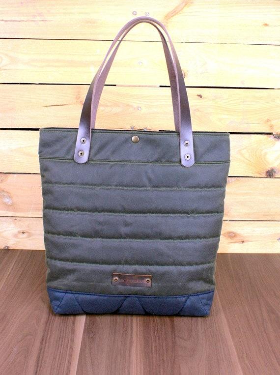e02045c826d1 Waxed Canvas Tote Bag Travel Bag Canvas Tote shopping bag