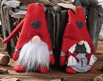 Adorable Gonk, Little Sweedish Gnome, Handmade Christmas Decoration. Christmas Gonk, Christmas Gnome. Christmas Decor, cute gift,