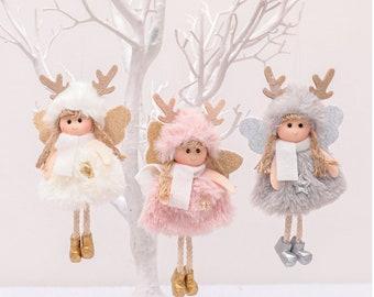 Adorable Fairys, Little Christmas Fairy, Handmade Christmas Decoration. Christmas Decor, cute gift, sweet handmade fairies