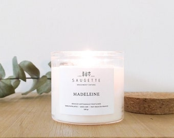 Madeleine - Craft candle scented with natural soy wax