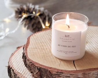 By the fire - Handcrafted candle scented with natural soy wax