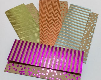 Money Envelopes With Notecards - Set of 4