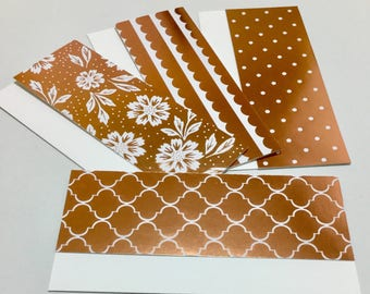 Money Envelopes With Note Cards - Set of 12