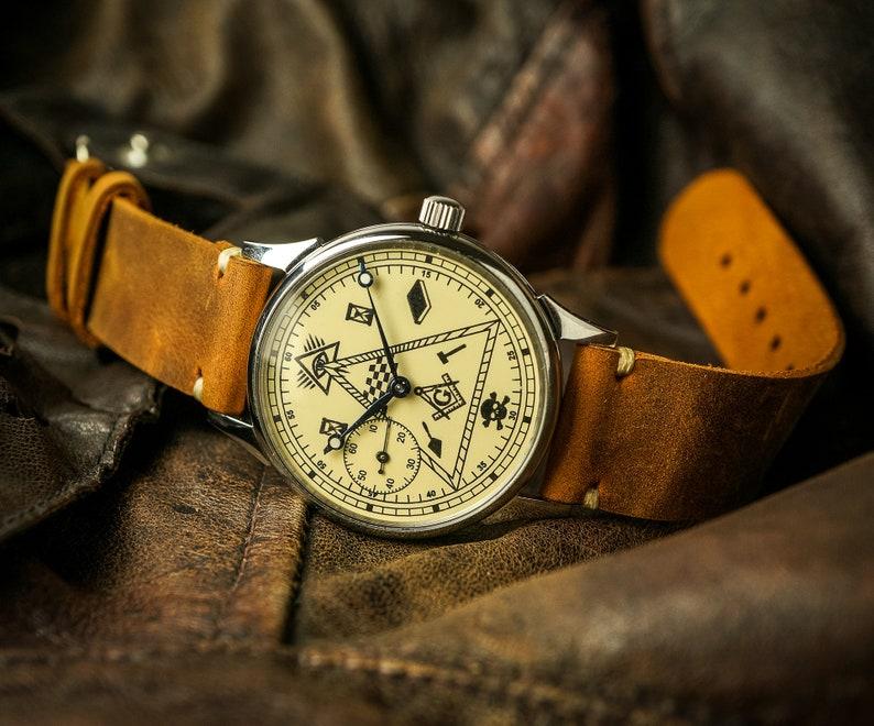 Soviet watch, Masonic watches
