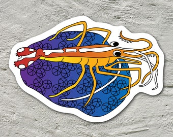 Coral Reef Stickers Sea Friends Collection
