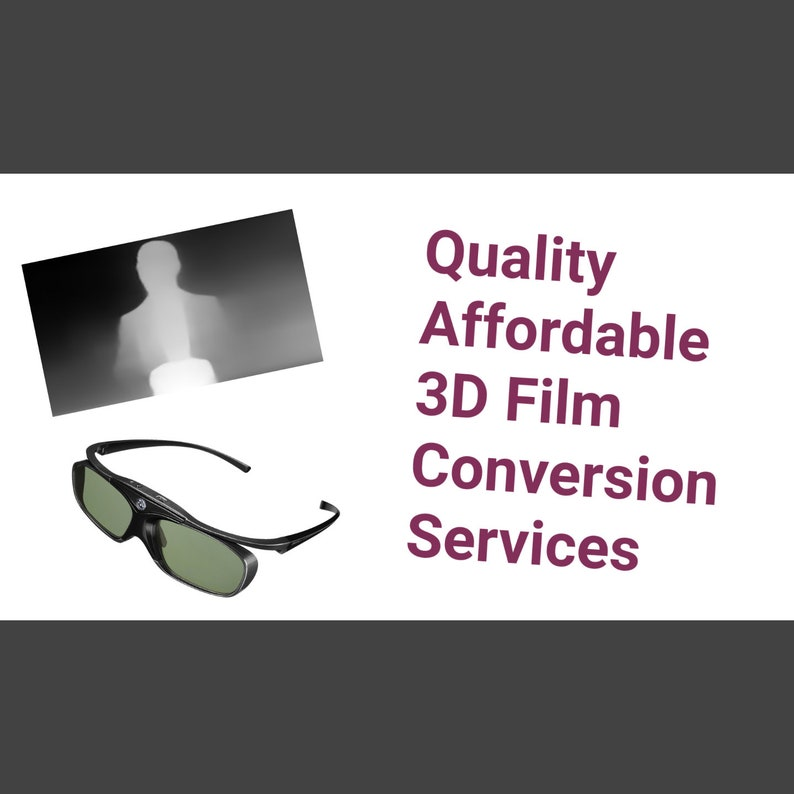 3D Film & Video Conversion image 0