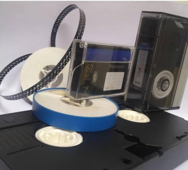 VHS 8mm film camcorder etc to DVD Blu-ray 4K or digital image 0