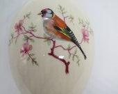 Royal Worcester Palissy Oval Shaped Porcelain Trinket Box