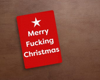 Free fucking christmas cards