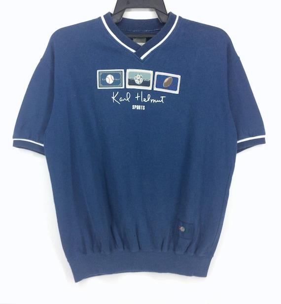 Vintage Karl Helmut Sport Big Logo Design T Shirt Karl Etsy