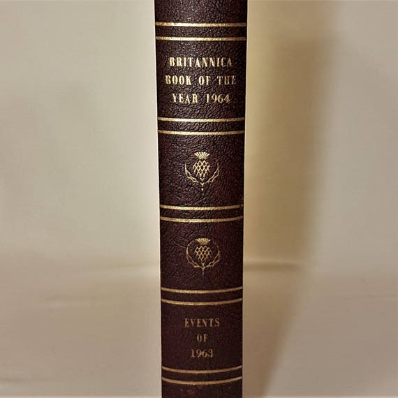 55th Birthday Or Anniversary Gift 1963 Book Of The Year
