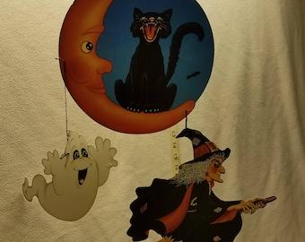 Vintage Beistle 1989 Mobile Halloween Ephemera