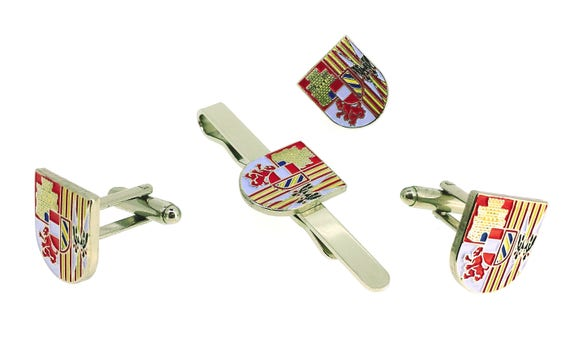 Cufflinks for shirt Coat of Arms of the Third from John of Austria the 3rd of the Legion