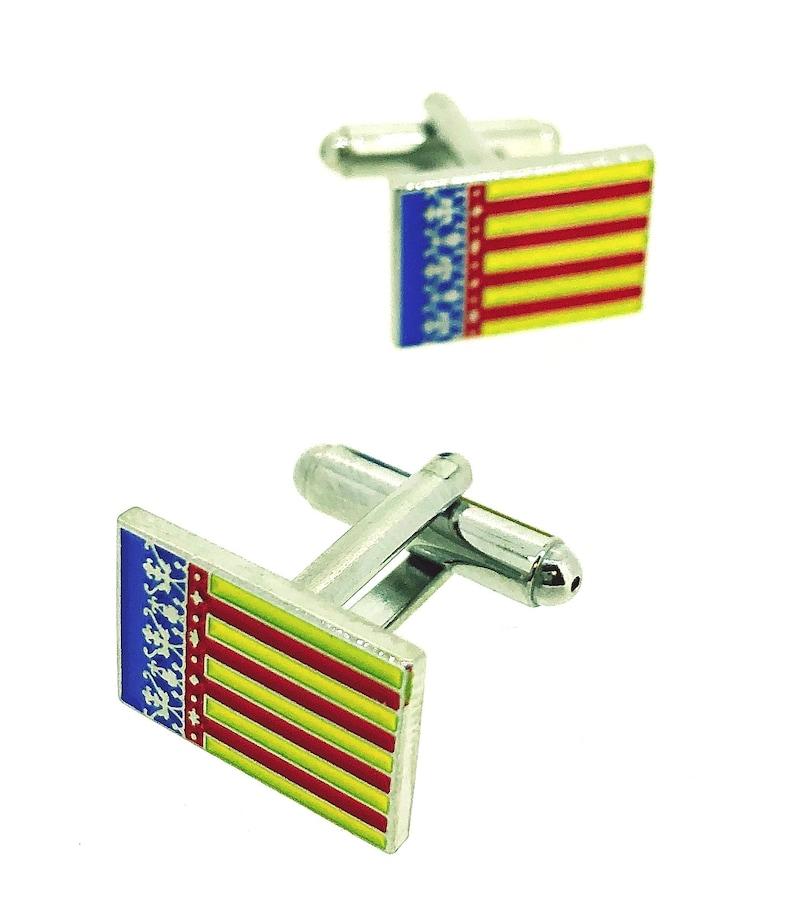 Valencian Community Flag Cufflinks