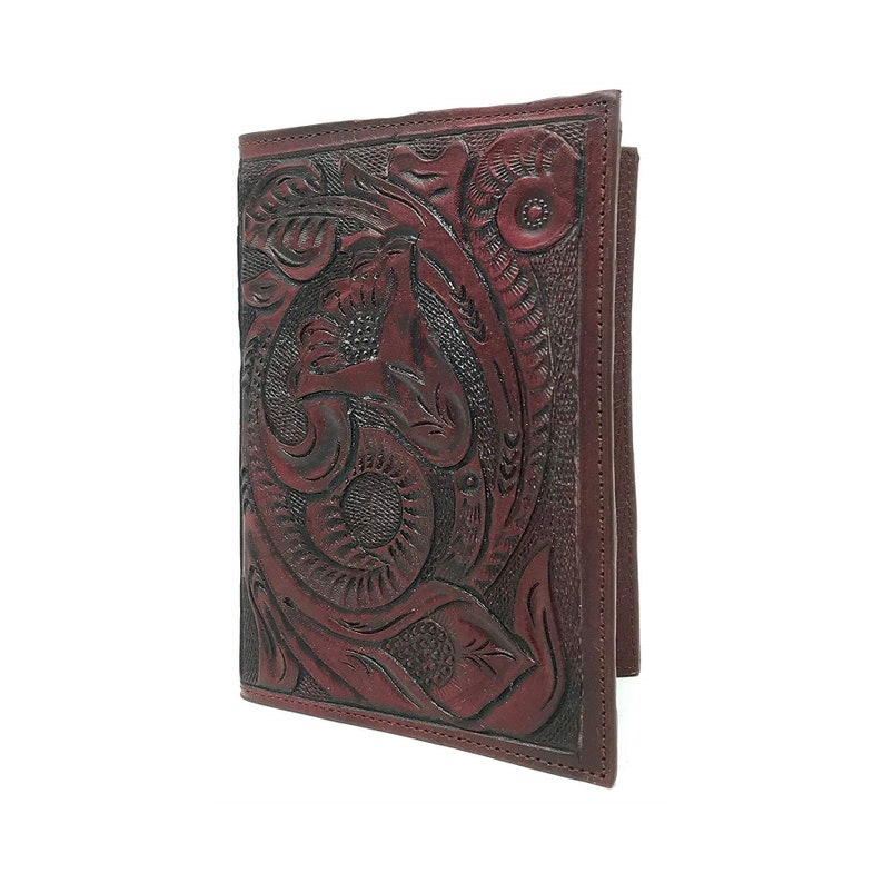 69e529dddde2 Passport wallet leather passport holder women passport cover leather  passport case Bridesmaid gift floral wallet carved ladies womens gift