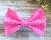 Pink Dog Bow tie, Girly Bow Tie for Pets