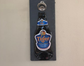 Unique Male Xmas Gift Mounted On Slate Backing Grolsch Bottle Opener Collectable Bottle Openers Collectables
