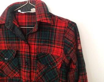 Kids True Vintage Woolrich Shirt 8Y