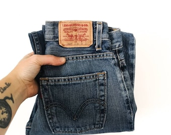 Levi's 569 Loose Straight Fit Jeans Unisex 7-8 Y